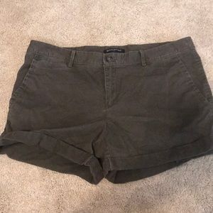 Olive/grey Banana Republic Shorts